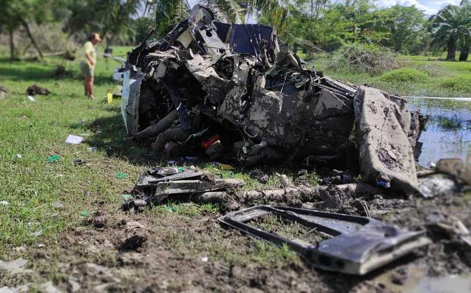 ¡5 polícias muertos! Tras desplome de helicóptero en Colombia
