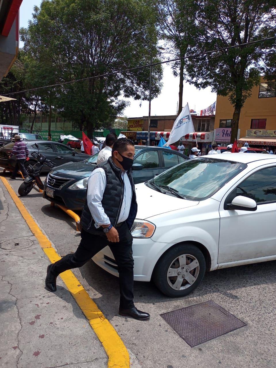 Persisten actos de intimidación contra campaña de Fernando Flores en Metepec.