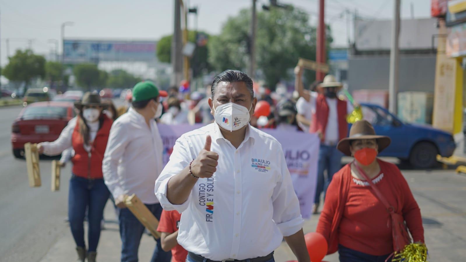 Demandas Ciudadanas, Convertidas en Propuestas: Braulio Álvarez Jasso