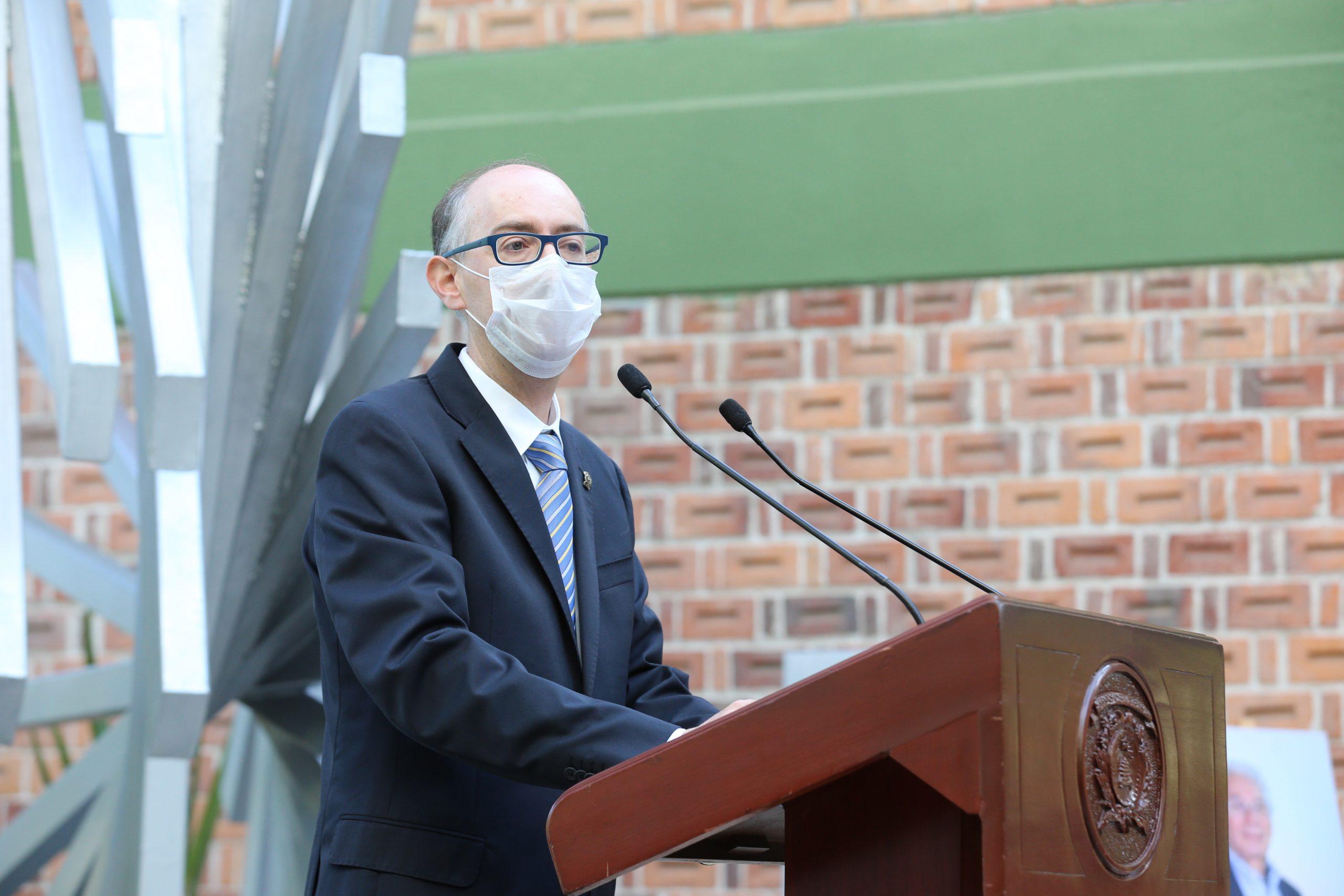 UAEM, convocada a fortalecerse como el espacio donde se privilegie el diálogo: Carlos Eduardo Barrera Díaz