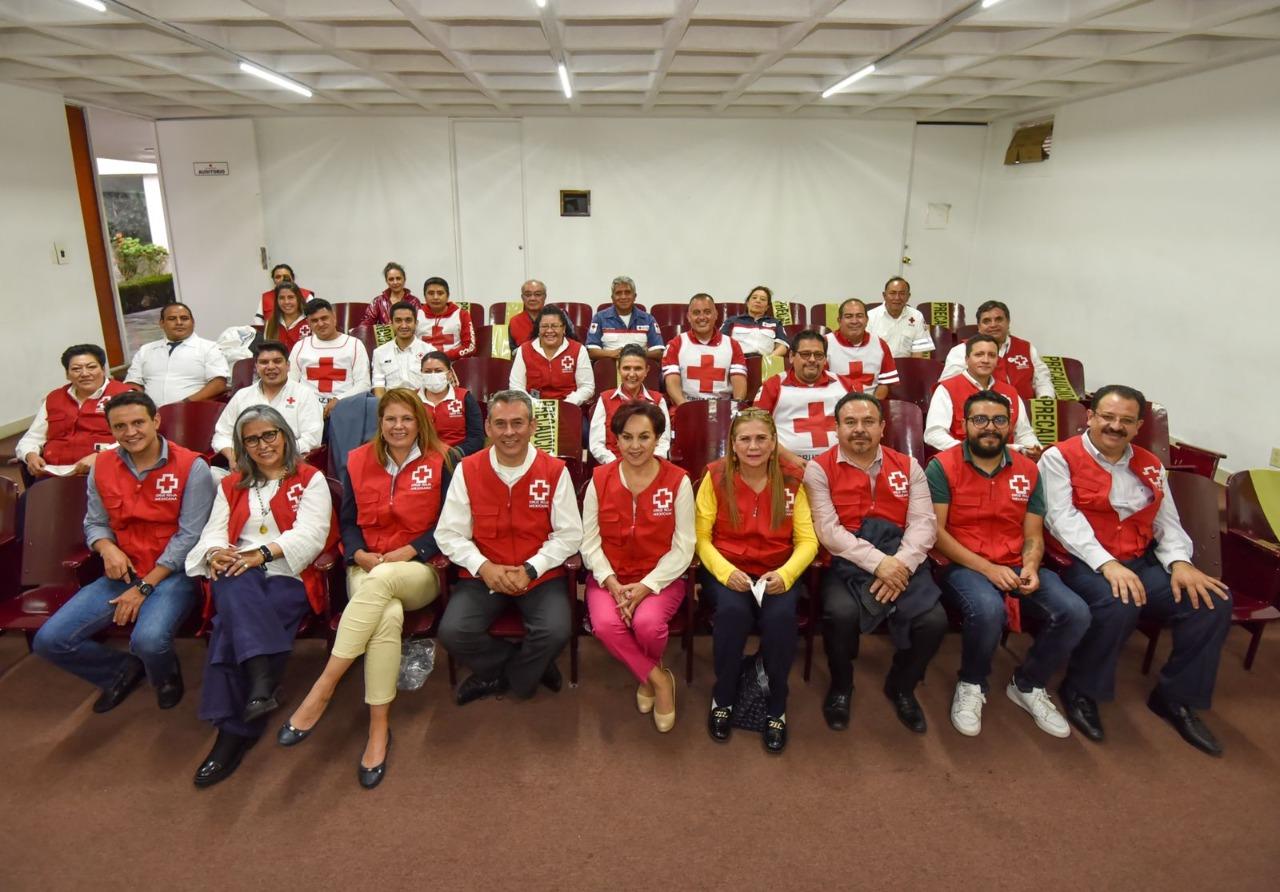 Renuevan al Consejo Directivo de la Cruz Roja en Toluca