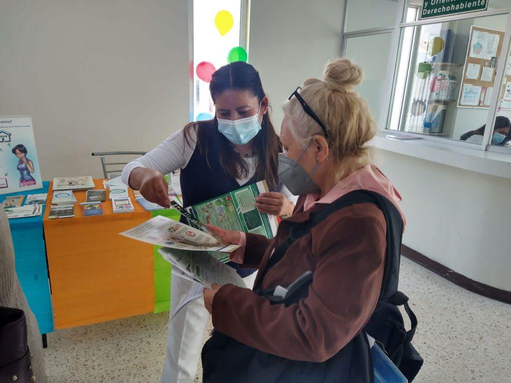 Participa IMSS Estado de México Poniente en jornada nacional de salud pública