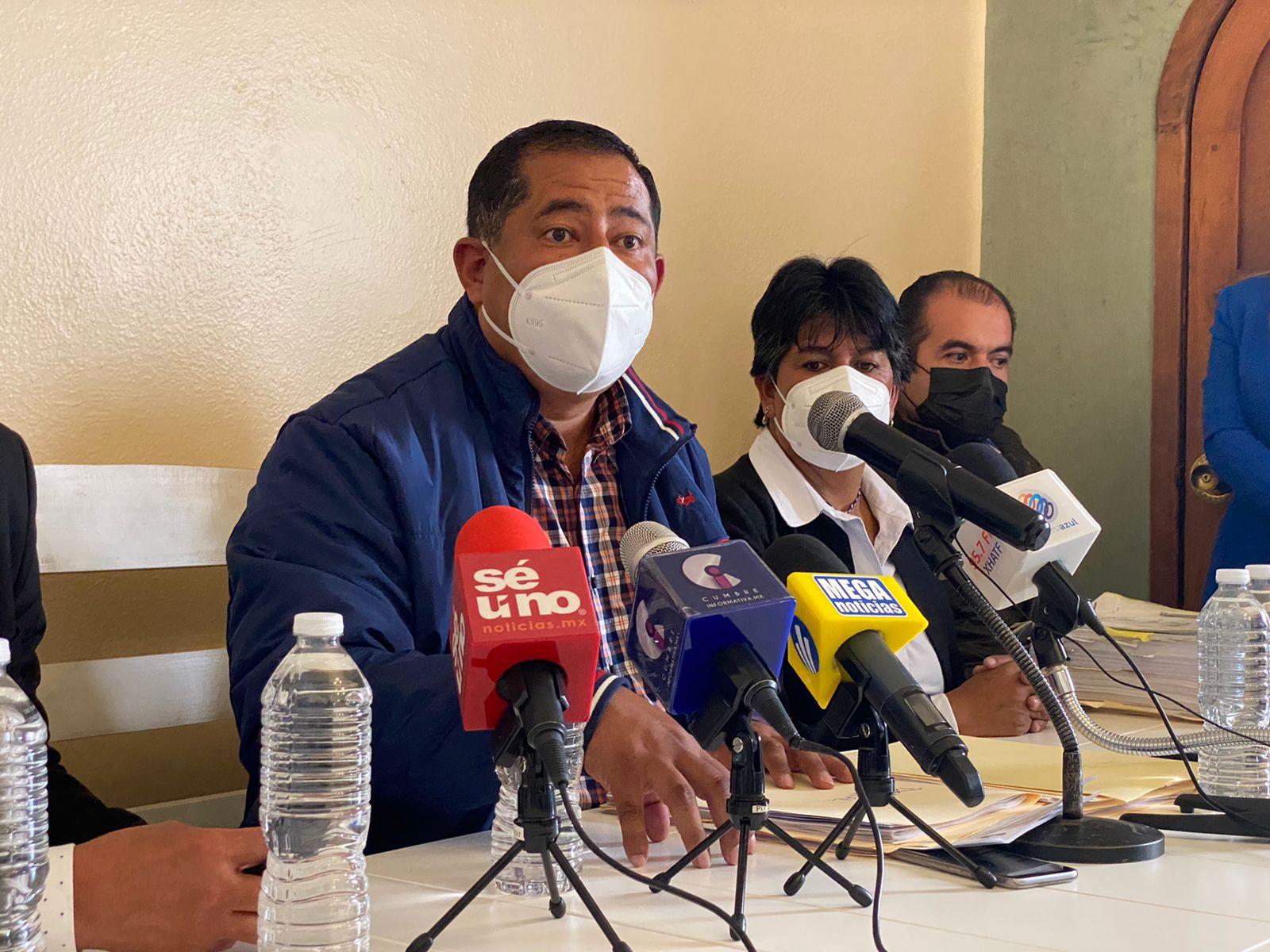 """Denuncia alcalde de Zinacantepec crimen organizado en coalición """"Va Por México"""""""