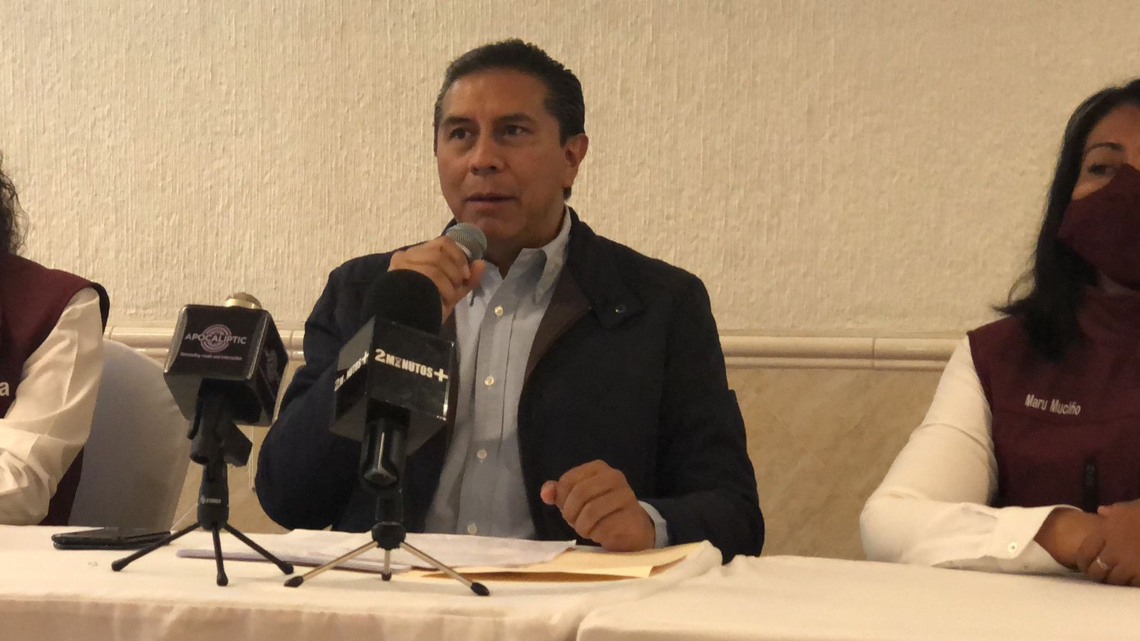 Juan Rodolfo denuncia violencia por parte de sus contrincantes