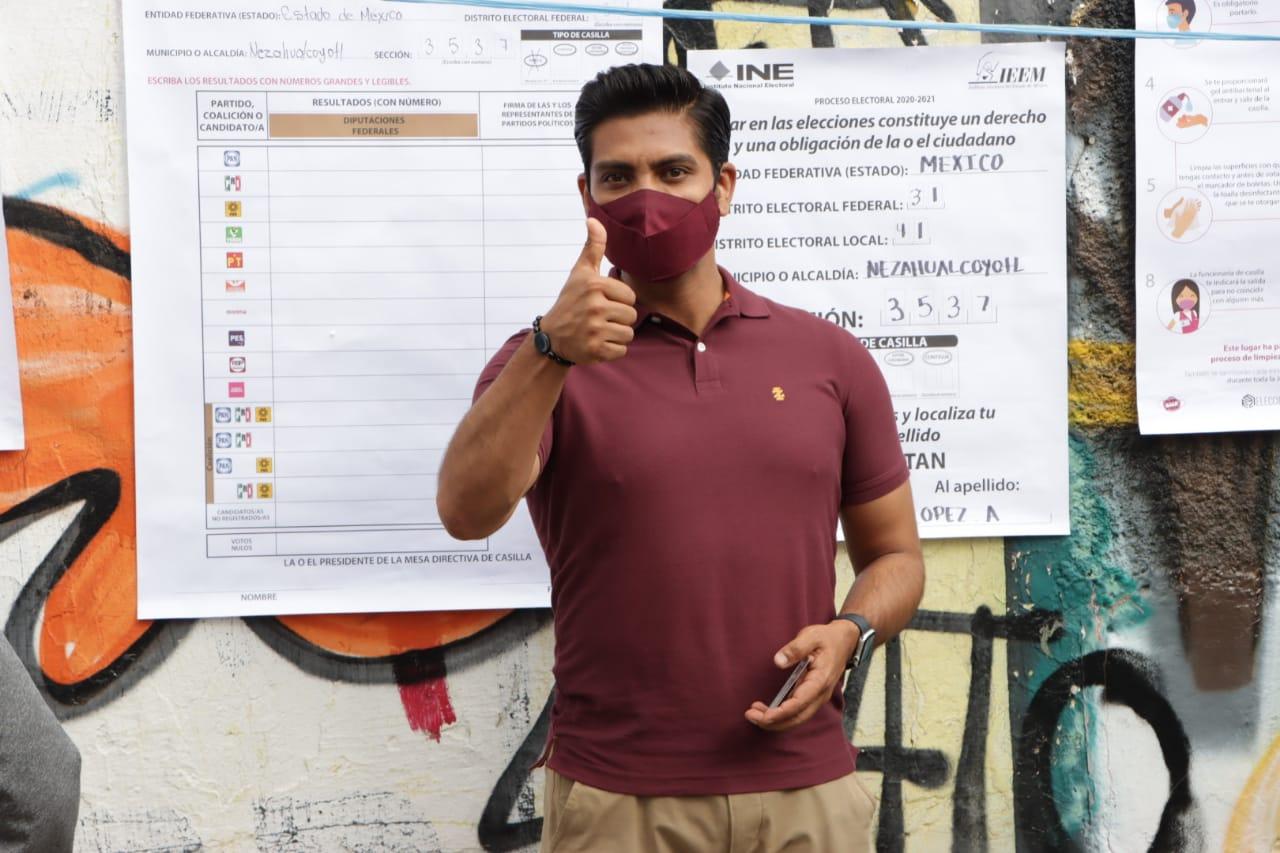 """Adolfo Cerqueda: """"Confío en que las autoridades electorales harán su trabajo correctamente y llevarán a buen término esta jornada electoral"""""""