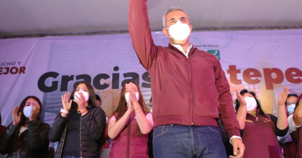 Fernando Vilchis logra triunfo contundente para segundo período como alcalde de Ecatepec