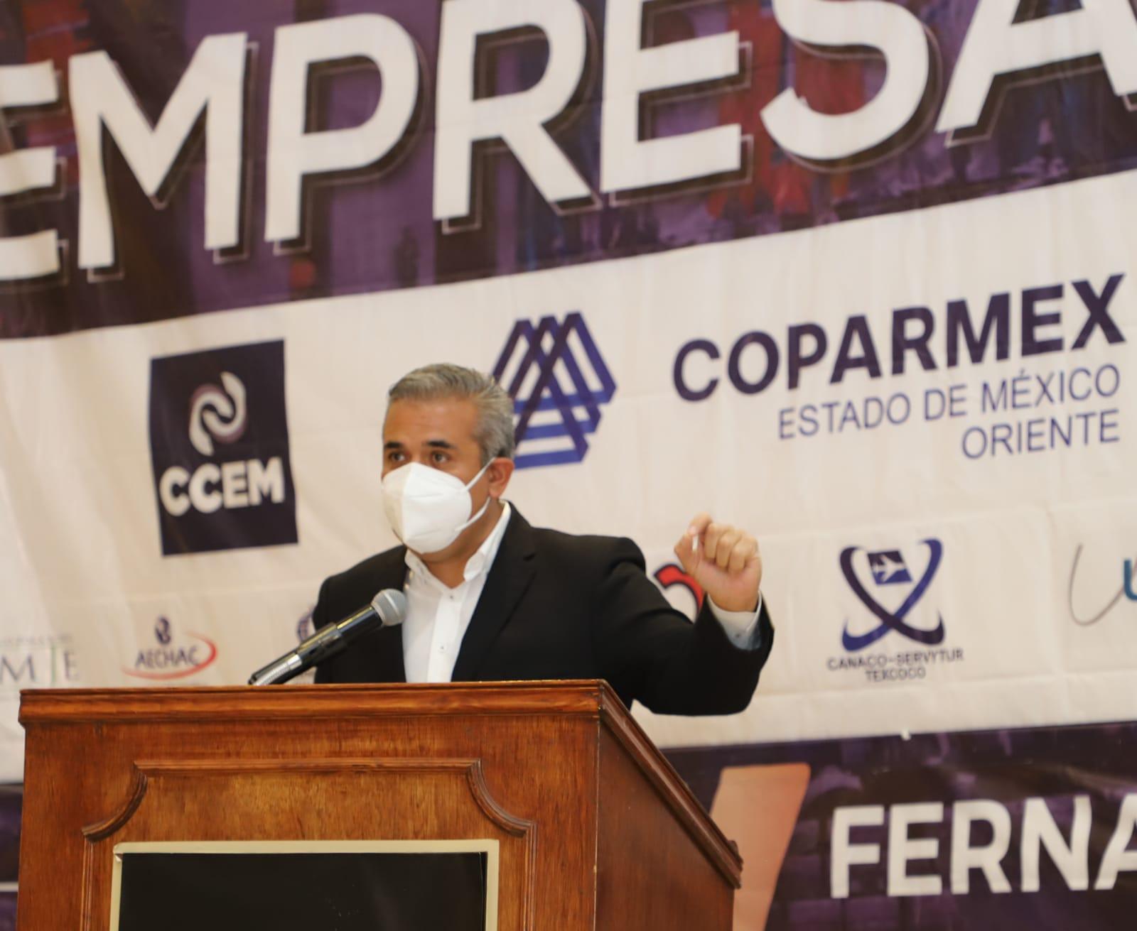 Fernando Vilchis propone facilitar la apertura de empresas para crear empleos en Ecatepec