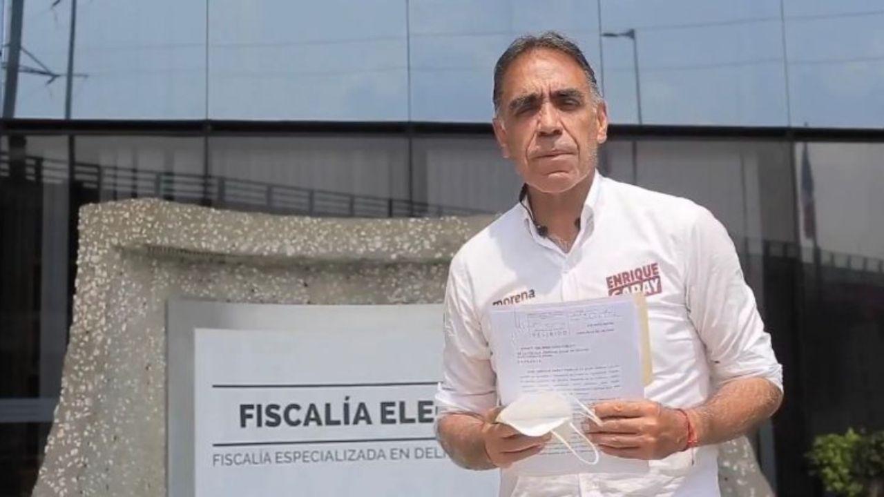 Presenta PAN Huixquilucan denuncia contra Enrique Garay