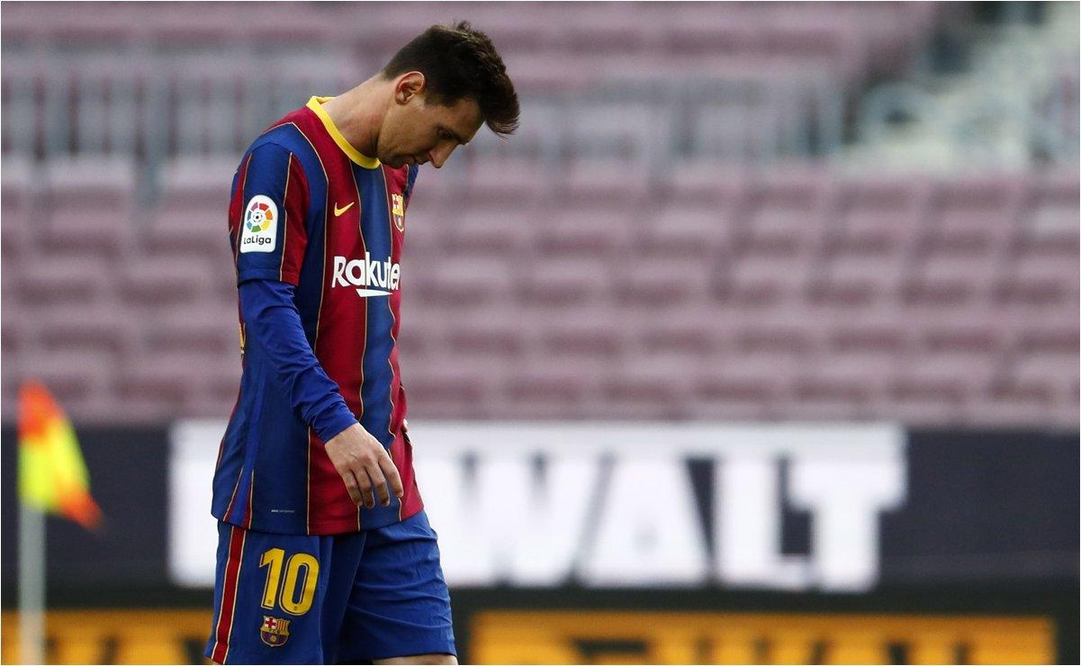 ¡Incertidumbre! Lionel Messi está a horas de quedar desvinculado del Barcelona por primera vez