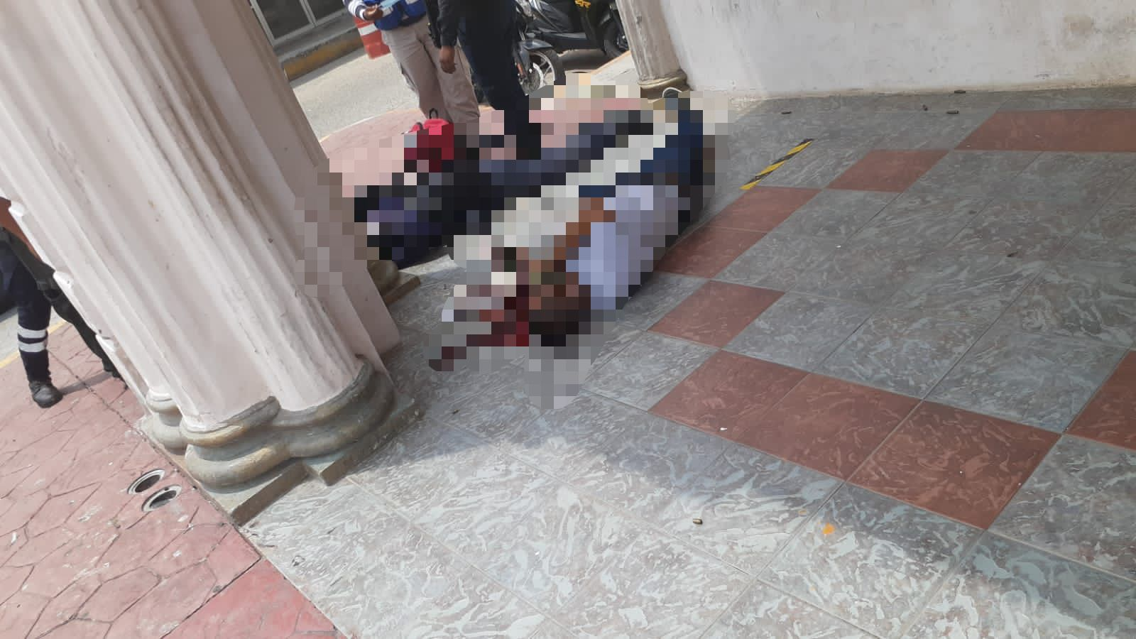 Acribillan a civil y hieren a Policia en Cosamaloapan, Veracruz