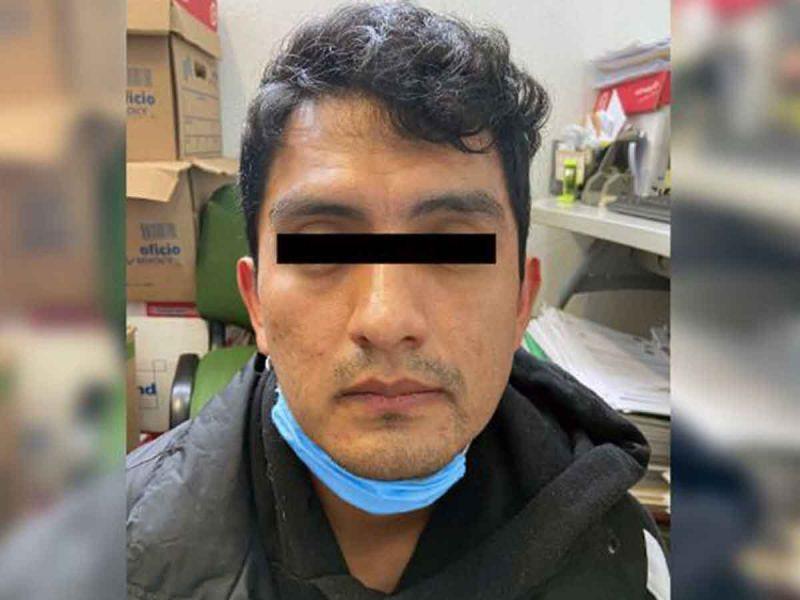 Capturan a sujeto que asesino a 3 integrantes de su familia en Edomex