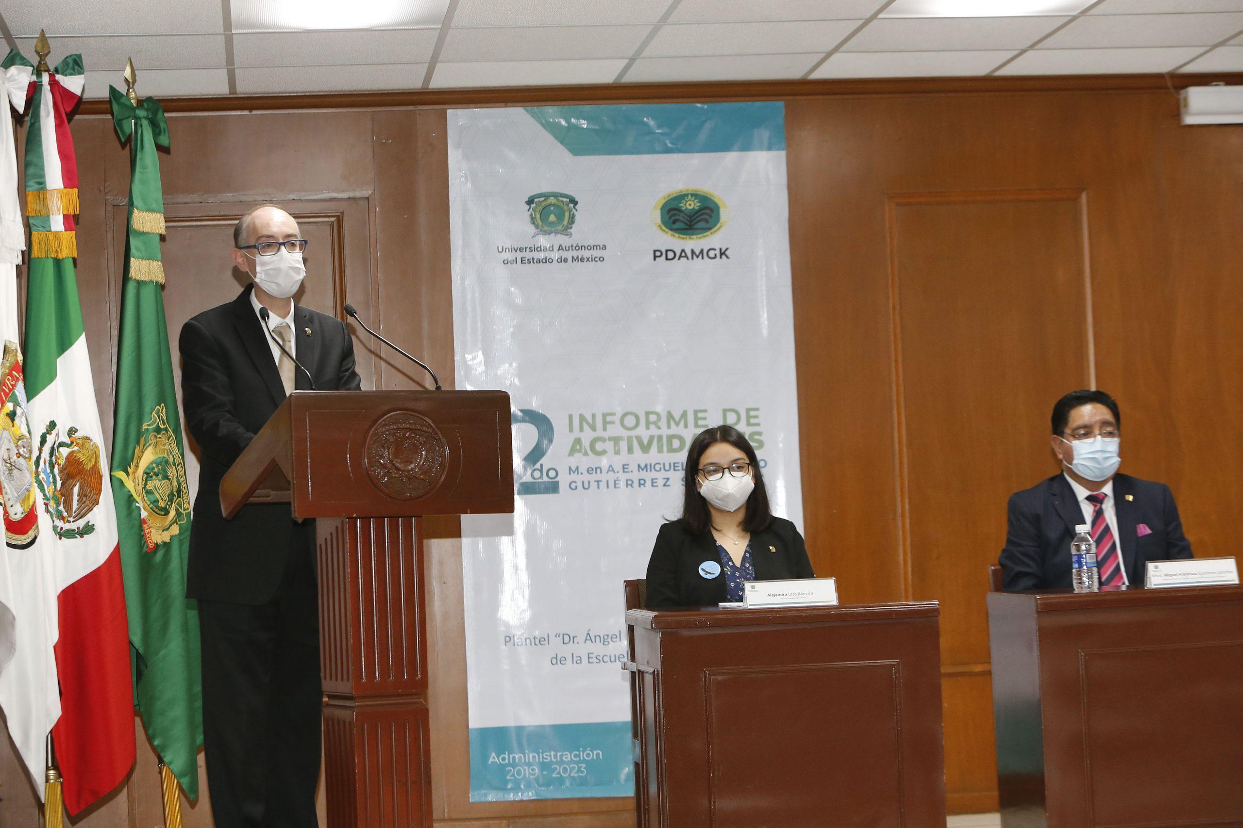 Comunidad estudiantil, docente y personal administrativo de la UAEM han sido resilientes ante la pandemia: CEBD