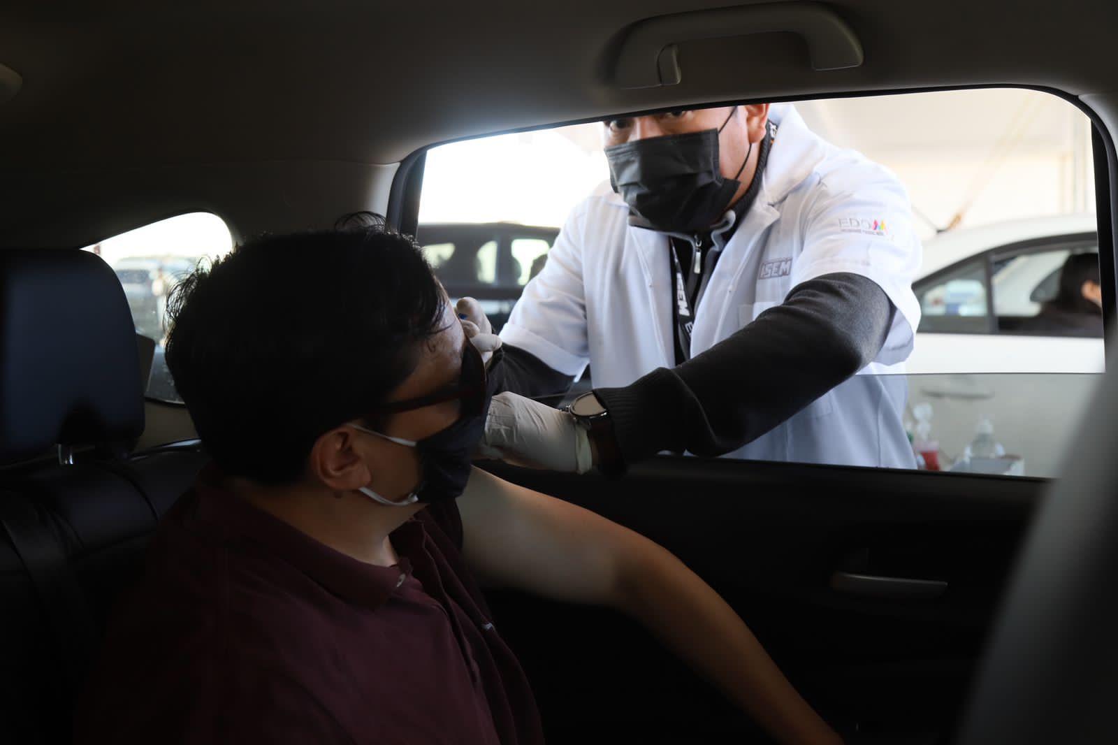 Buena respuesta de más de 34 mil metepequenses de 30 a 39 años para la aplicación de la vacuna contra COVID-19