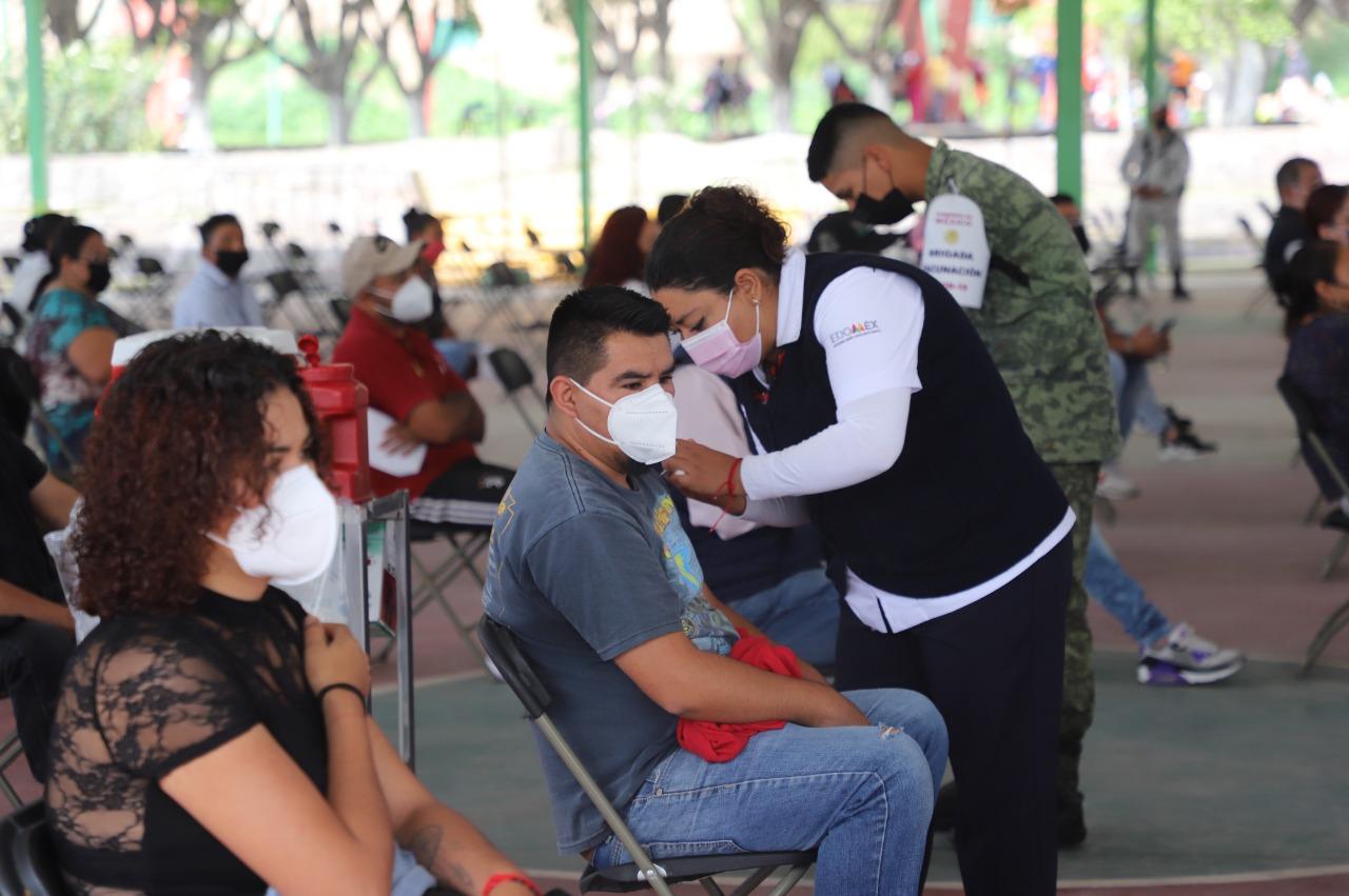 Anuncian fecha para vacunación a jóvenes de 18 a 29 años en Edomex
