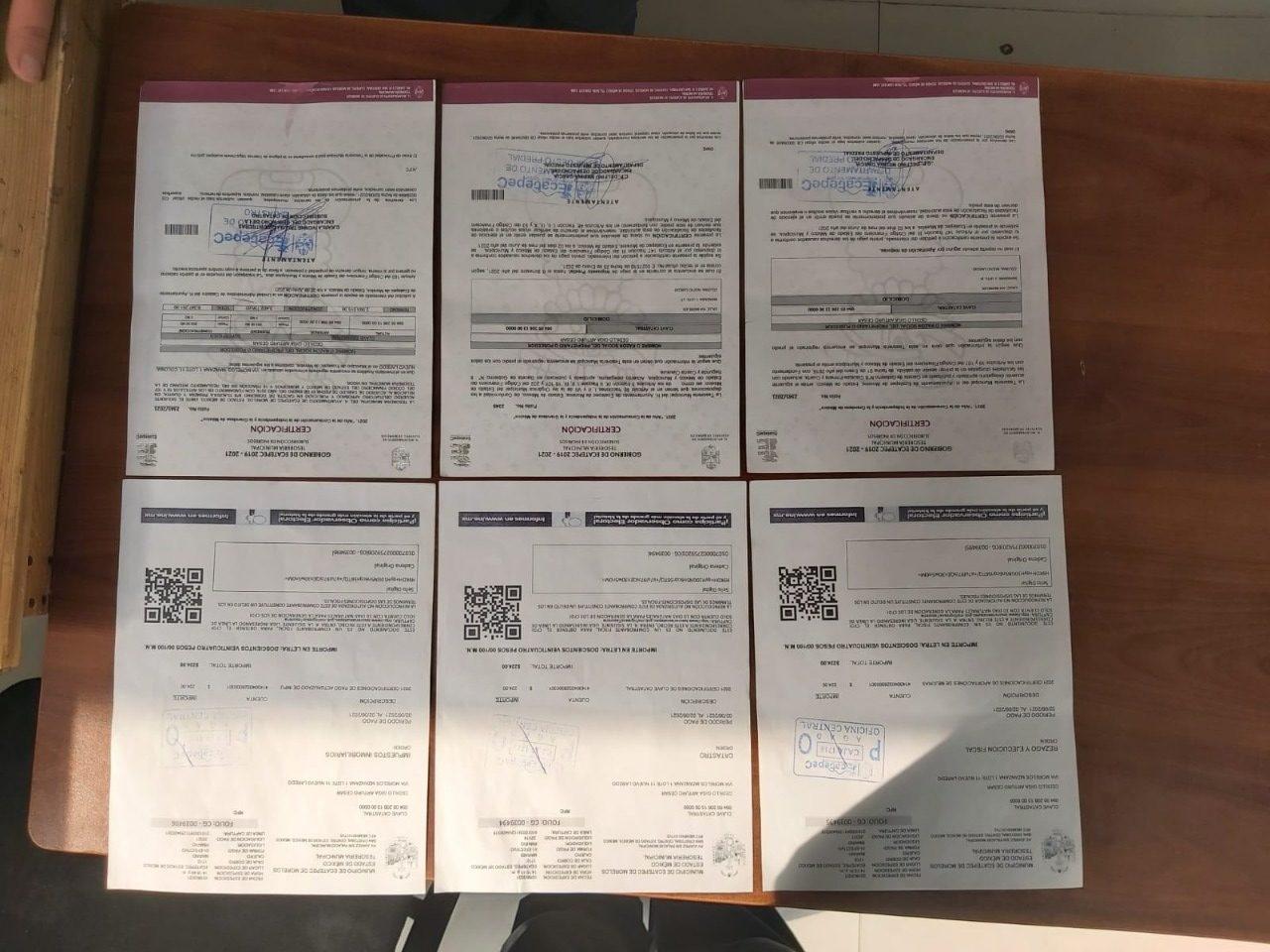 Policía de Ecatepec detiene a falsificadores de documentos que son utilizados para adueñarse de inmuebles