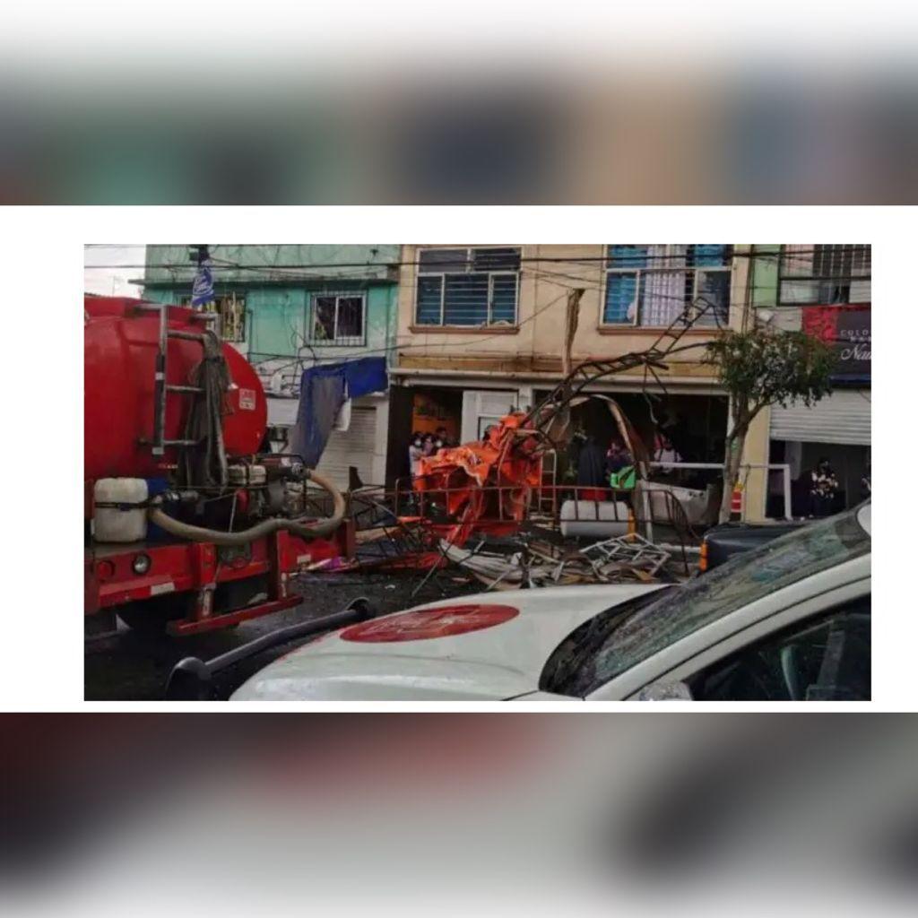 Explota taquería en CDMX dejando 12 personas heridas