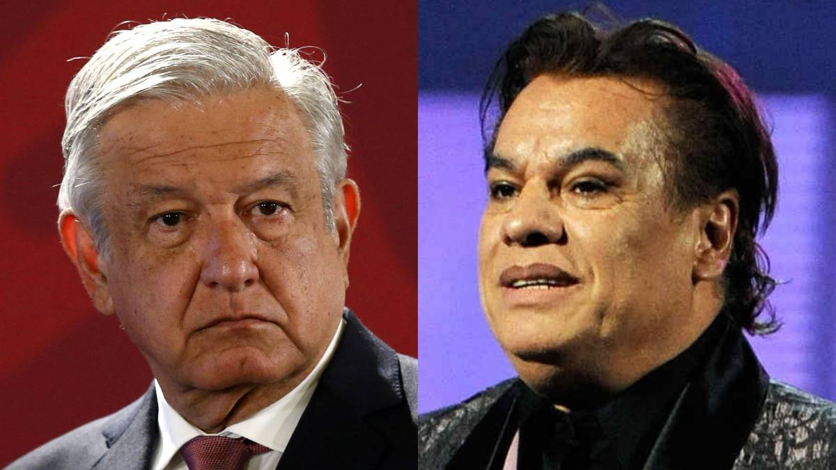 "#VIDEO Rinde AMLO homenaje a Juan Gabriel en la ""Mañanera"""
