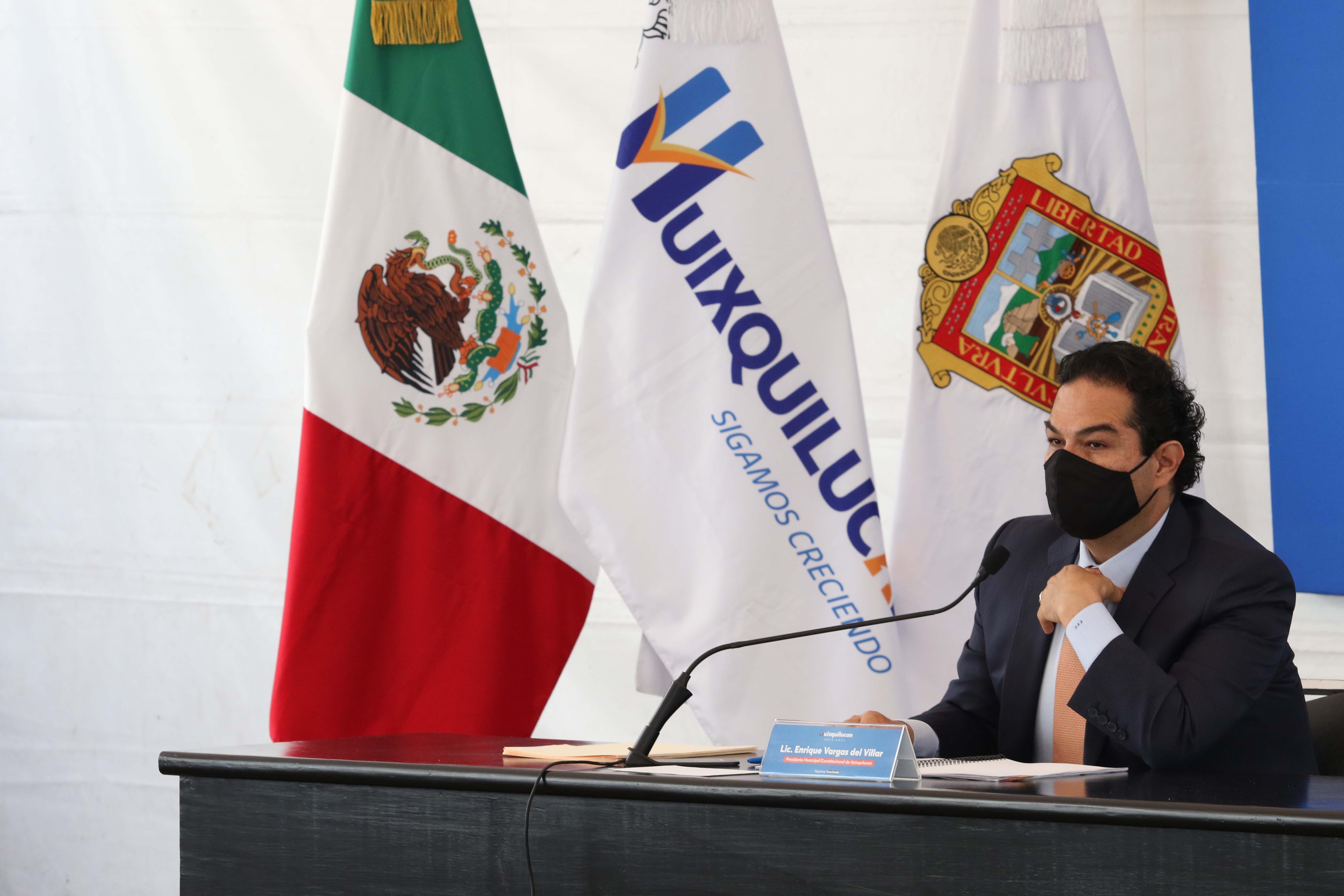 Huixquilucan apoya a empresarios ante la contingencia sanitaria