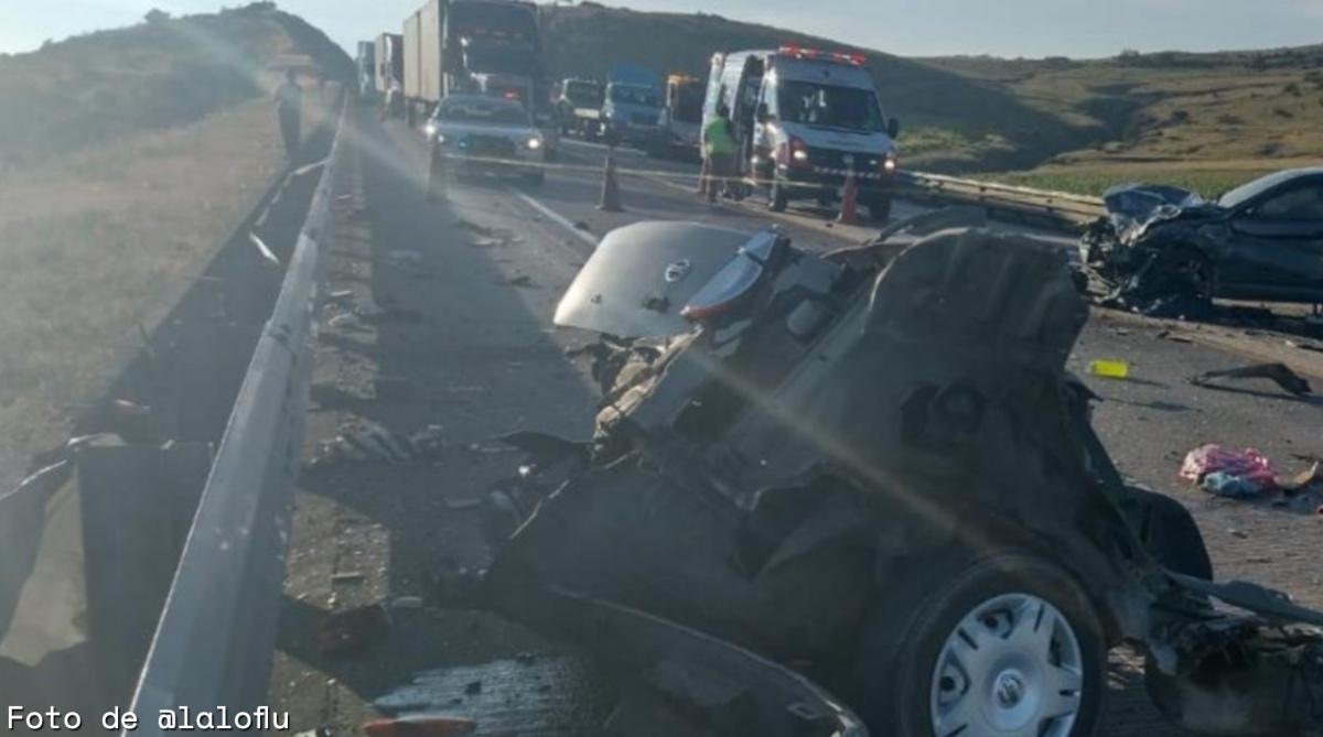 5 muertos tras accidente en la México-Tuxpan