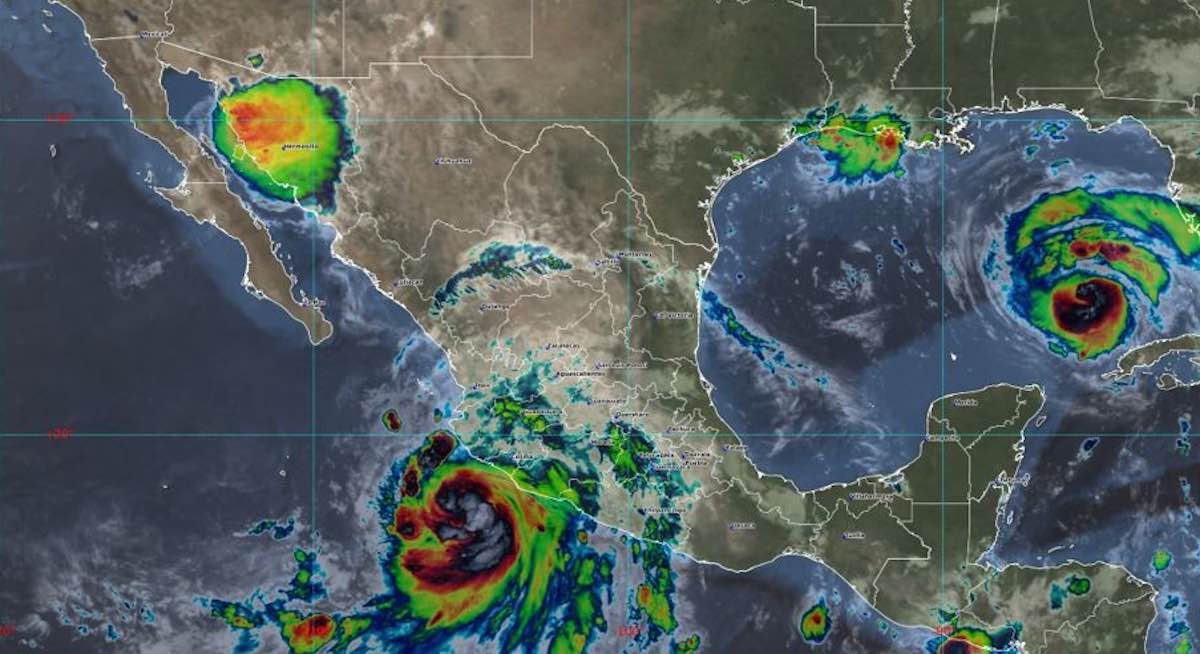 """Nora"", se convierte en huracán categoría 1 frente a las costas de Jalisco"