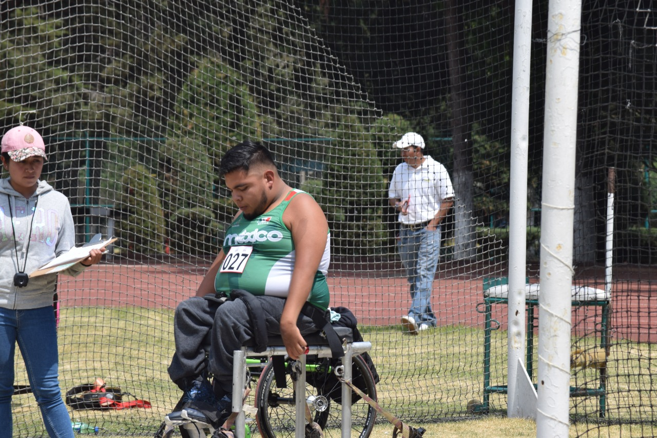 Llega lanzador de bala Erick Ortiz a sus segundos juegos paralimpicos