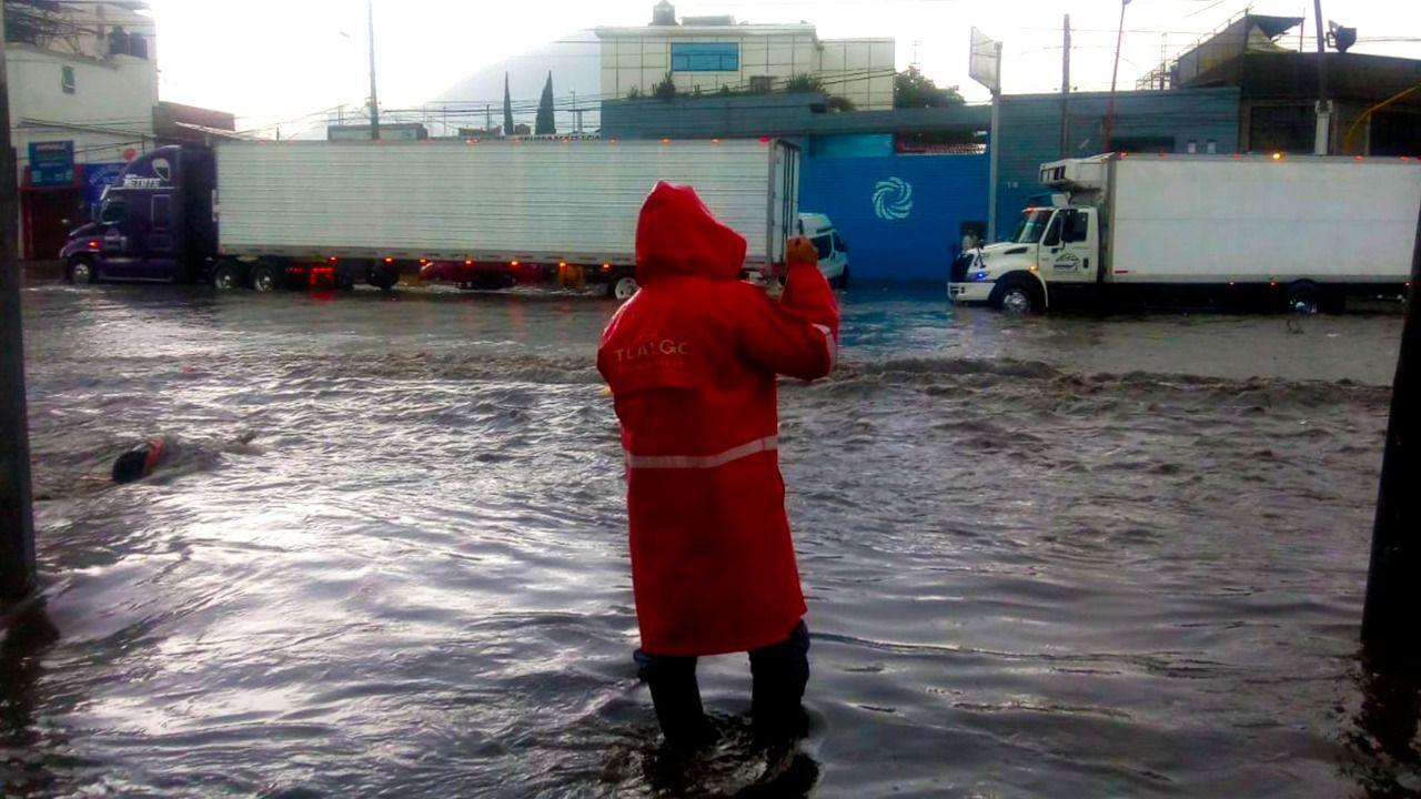 Plan Mixtli se activa por las fuertes lluvias en Ecatepec y reporta saldo blanco