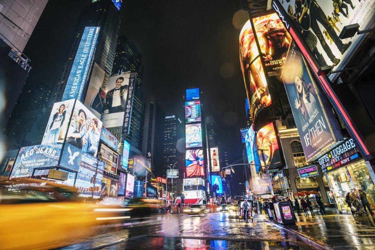 #Video Se registra un tiroteo en Times Square