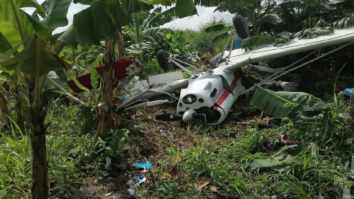 Desplome de avioneta en Tabasco deja el saldo de un muerto