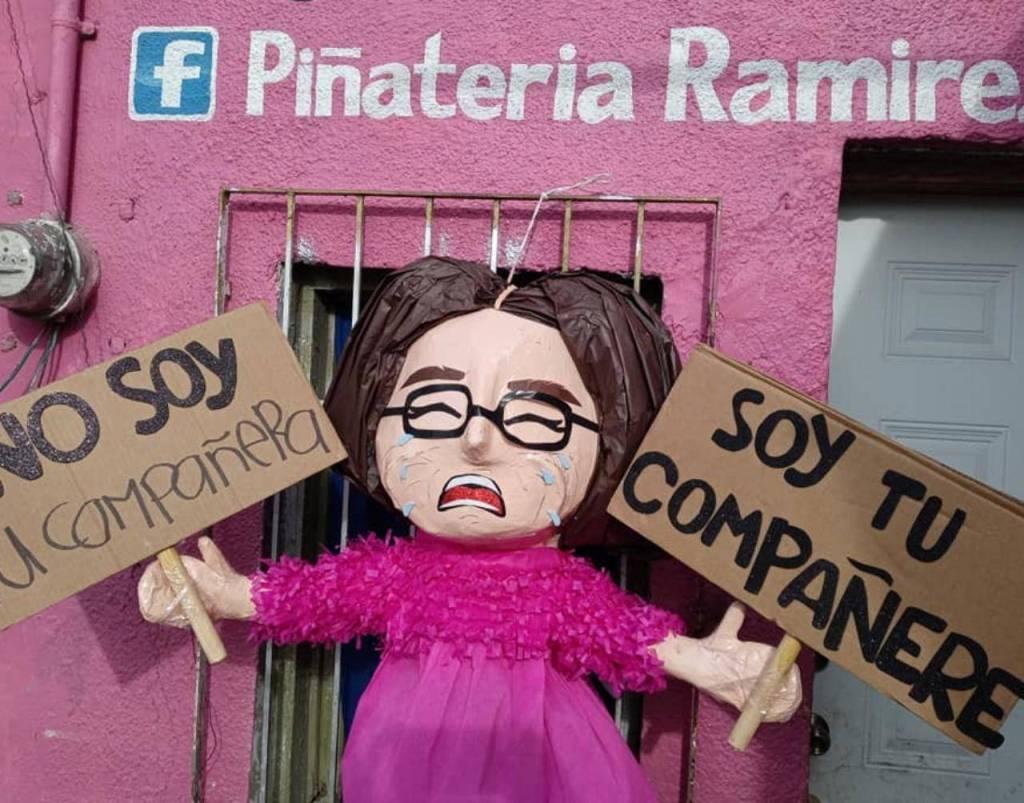 'No soy tu piñata, soy tu piñate'; Piñatería de Reynosa crea piñata de 'compañere'