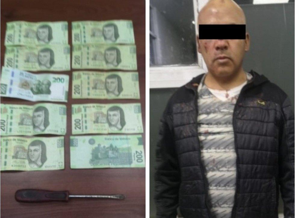 Policía de Ecatepec detiene a presunto extorsionador que exigía dinero a una familia para no hacerles daño