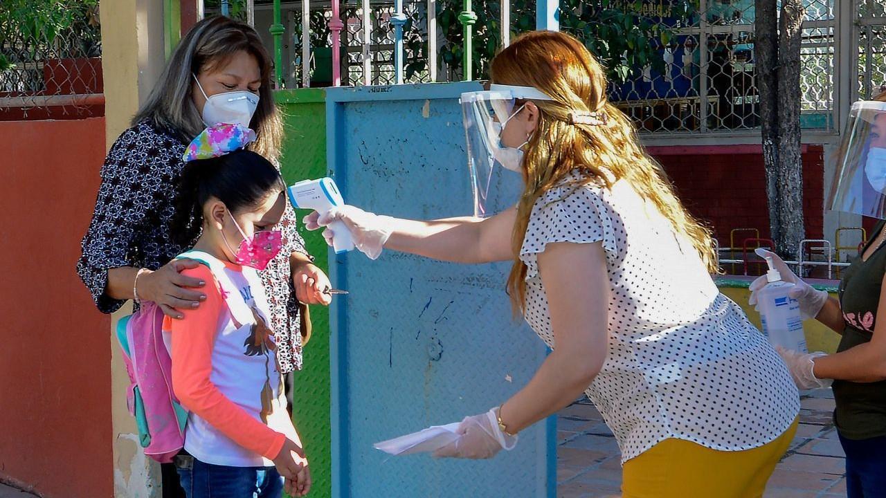 Maestra da positivo a Covid en escuela de Guanajuato, docentes se realizan la prueba