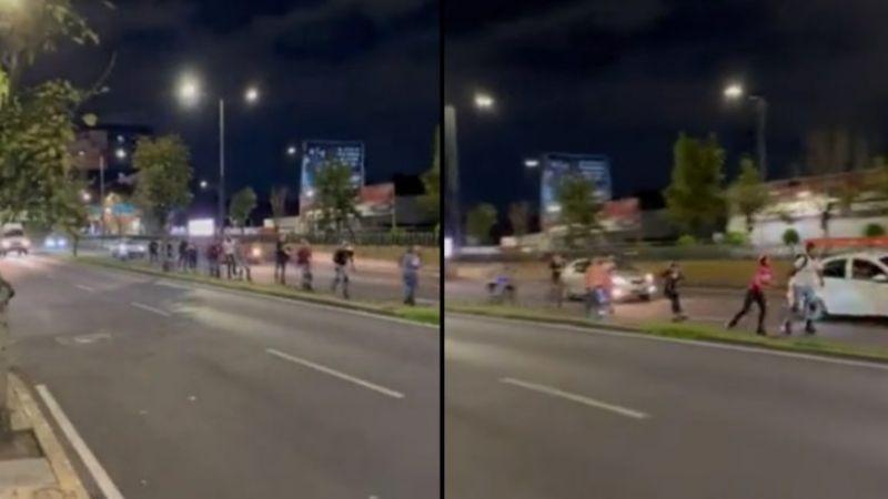#Video Jóvenes patinan sobre carriles centrales de Río San Joaquín