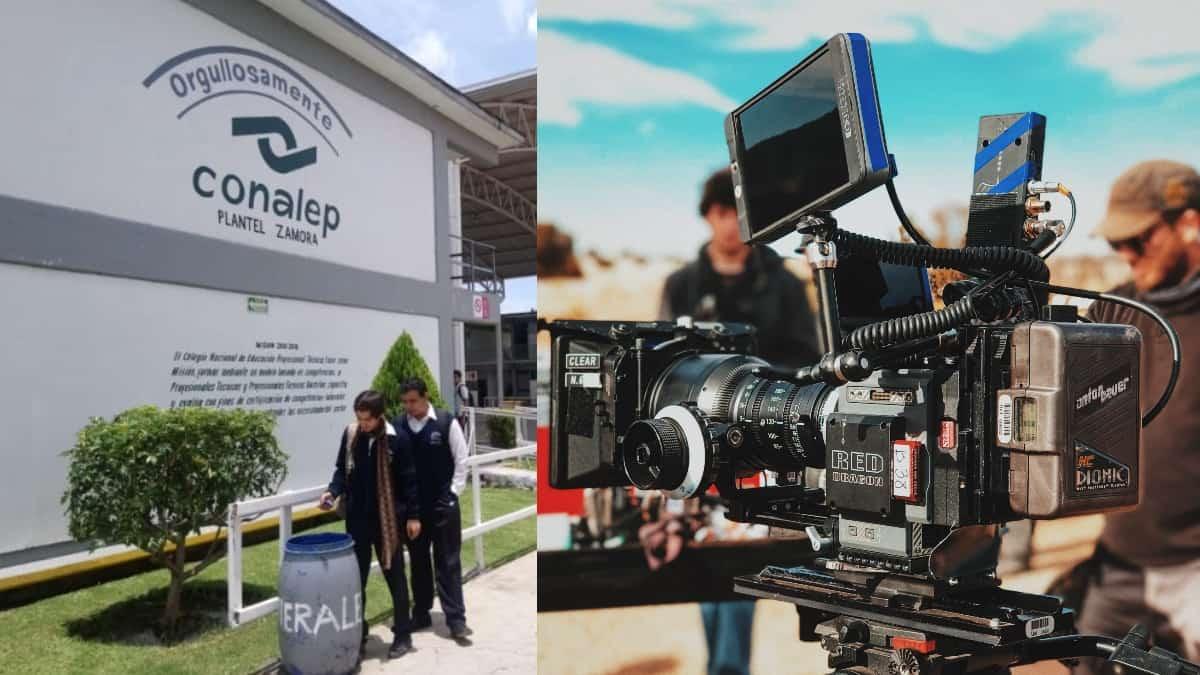 El CONALEP impartirá 5 carreras técnicas de cine