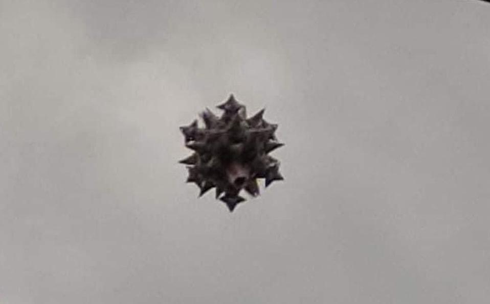 #VIDEO Captan en Ecatepec presunto OVNI, podría tratarse de un drone