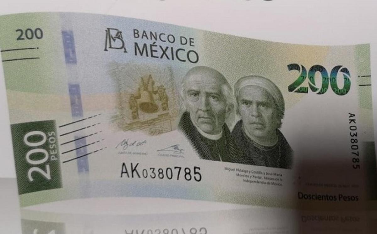 Nuevo billete de 200 pesos se vende hasta en 8 mil pesos en internet