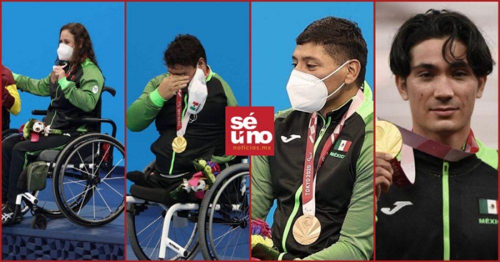 México rompe la marca de 300 medallas paralímpicas en Tokio