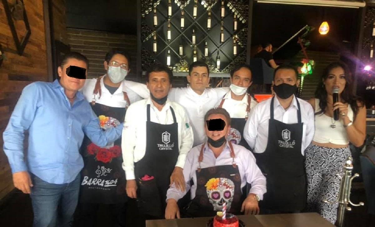 El gerente festejaba su cumpleaños momentos antes del atentado en Salamanca
