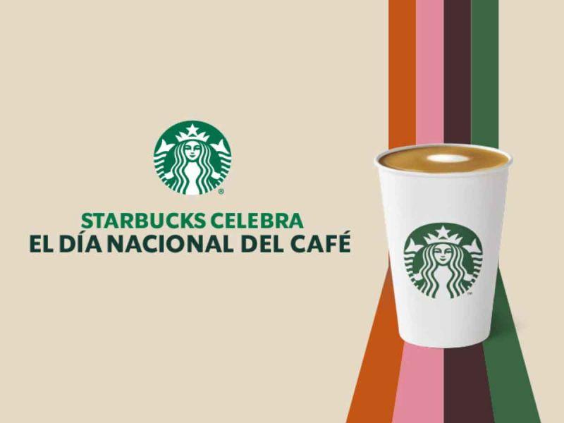 Starbucks celebra el Día Nacional del Café con un 2x1