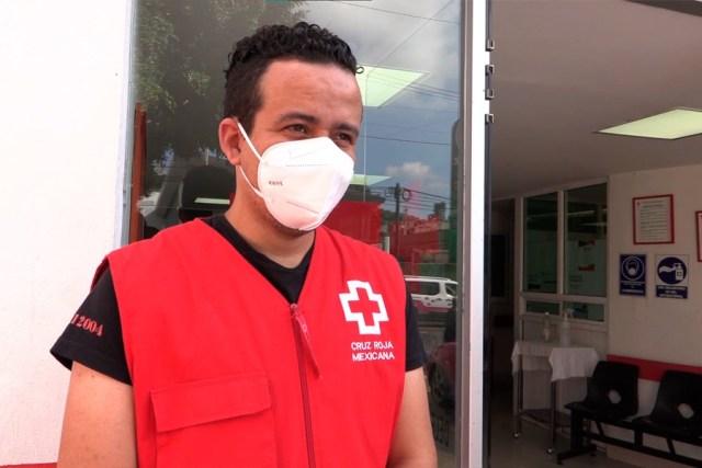La Delegación Ecatepec de la Cruz Roja se ubica en avenida Insurgentes, en San Cristóbal. La tarde del pasado 6 de septiembre inició la lluvia y al poco incrementó su intensidad, hasta convertirse en tormenta.