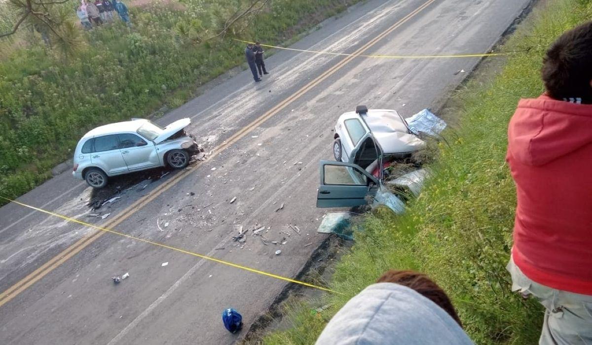 Reportan 4 muertos por accidente en la Toluca Zitácuaro
