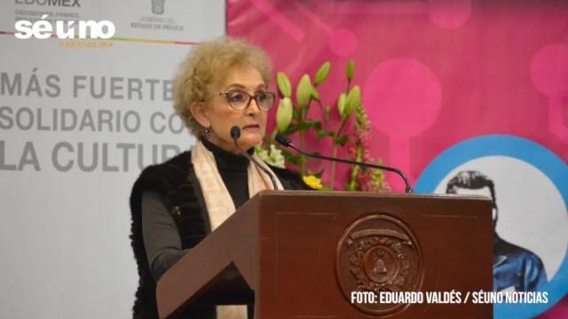 Marcela González Salas, titular de la Secretaría de Cultura y Turismo Del Estado de México