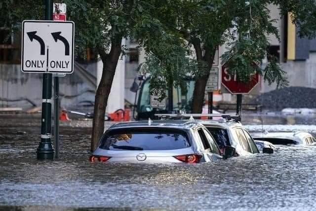 Tremendas inundaciones en Nueva York tras paso de huracán Ida