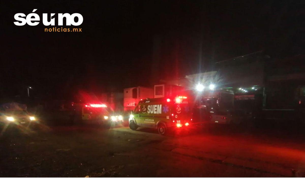 Mueren intoxicados 4 hombres en Central de Abasto Toluca
