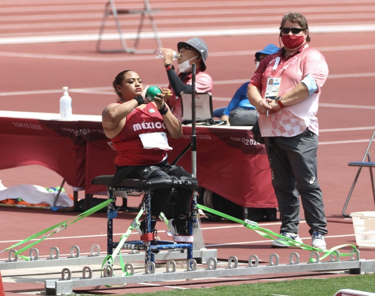 Alcanza Gloria Zarza Guadarrama la gloria en el Olimpo