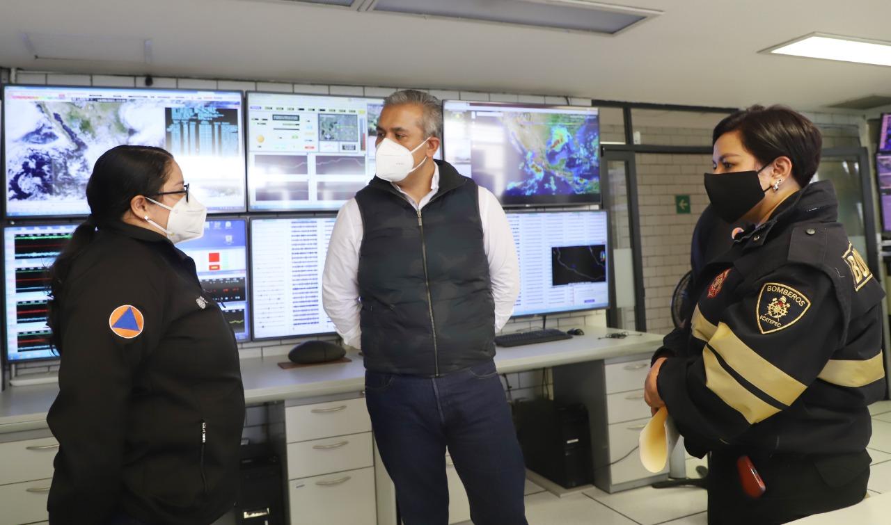 Ecatepec captará agua de lluvia en la Sierra de Guadalupe para prevenir inundaciones; tendrá apoyo de especialistas del Cenapred