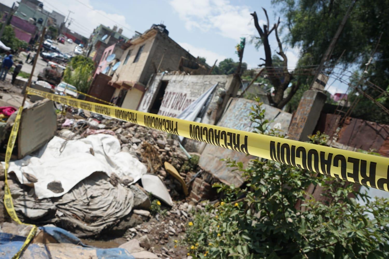 Reubicará gobierno de Ecatepec a familias afectadas por deslave