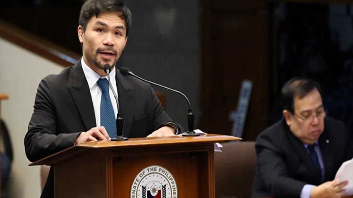 """""""Sí, acepto"""" Manny Pacquiao irá por la presidencia de Filipinas en 2022"""