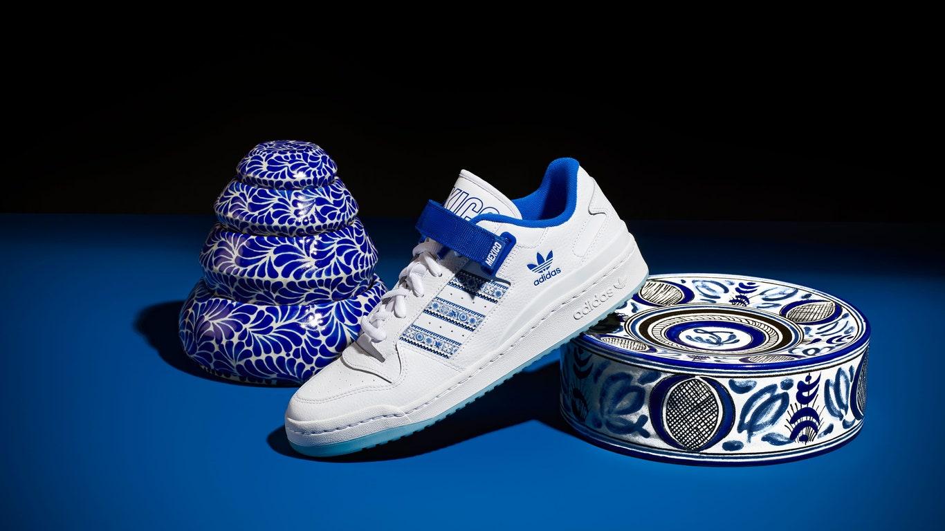 Adidas presenta su colección Forum Mexico City, inspirada en la talavera