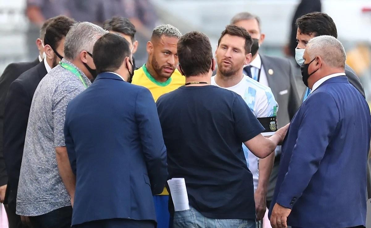CONMEBOL suspende oficialmente el partido de Brasil contra Argentina