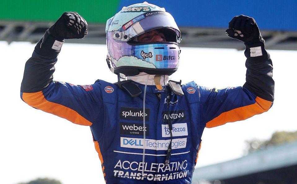 Daniel Ricciardo se lleva el GP de Italia de la Fórmula 1; Checo Pérez termina quinto